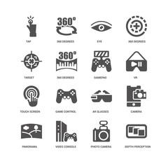 Depth perception, 360 degrees, Tap, Camera, Ar glasses, Game con