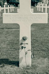 Gravestone for Unknown Solider