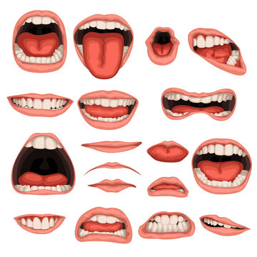male mouth set