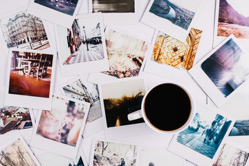 Coffee and Polaroids