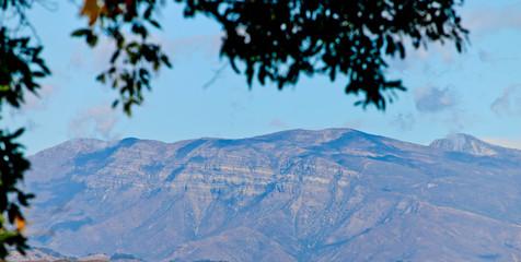 Topa Topa Mountains in Fall