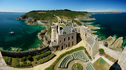 Fort La Latte in Brittany, France