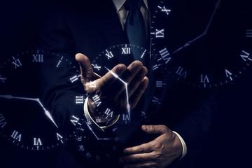 ビジネスイメージ 時間