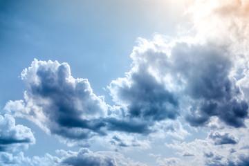 Rain Clouds on the sky