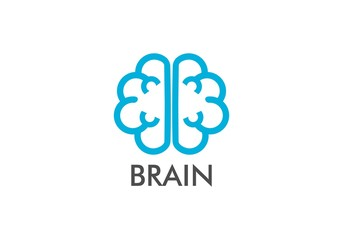 Brain, think logo