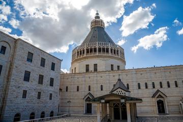 Basilica of the Annunciation in Nazareth, Israel
