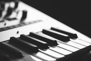 piano keys, music background
