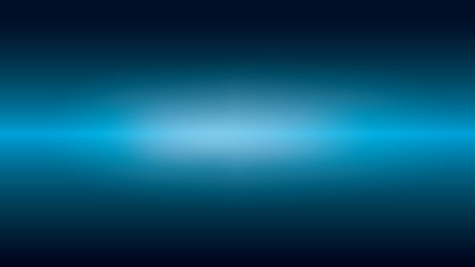 Futuristic gradient dark blue abstract background with horizontal glowing light beam