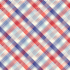 Geometric abstract diagonal plaid pattern in low poly pixel art style.