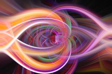 Farbiger Twirl Hintergrund Desktop Textur orange gelb lila rosa