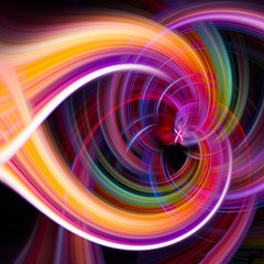 Farbiger Twirl Hintergrund Desktop und Textur lila orange schwarz
