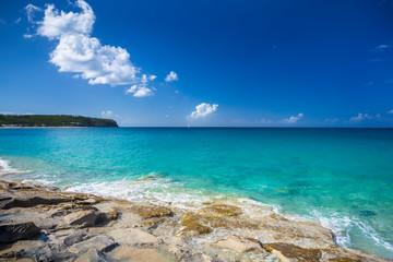 Beach on the Caribbean Sea