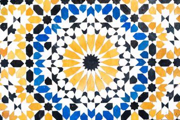 Vintage handmade tile ceramic