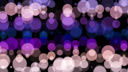 Background of multi-colored circles.