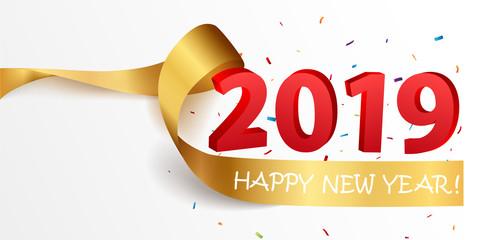 Happy New Year celebrations design