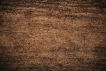 Old grunge dark textured wooden background, The surface of the old brown wood texture, top view brown wood paneling