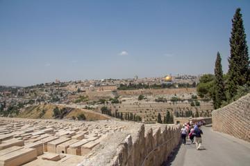 jerusalem, mont des oliviers