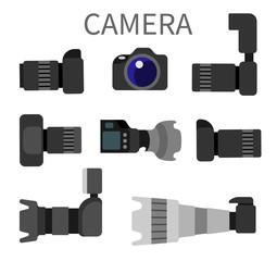 Set High Resolution Action Cameras, Removable Lens