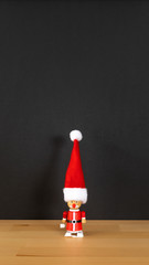 Santa Claus figure wind up toy