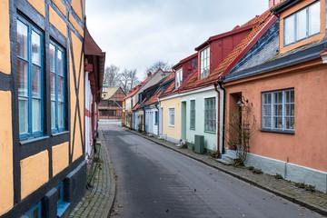 Street scene from the Swedish town of Ystad.
