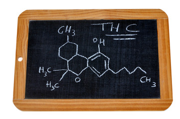 Formule chimique du tétrahydrocannabinol