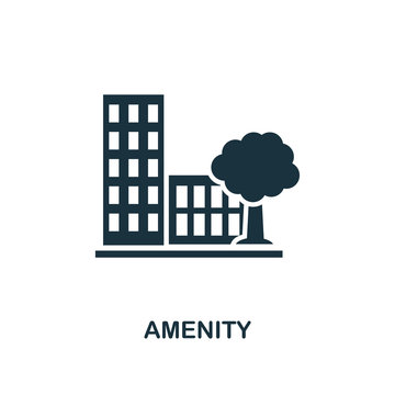 Amenity icon. Premium style design from urbanism icon collection. UI and UX. Pixel perfect Amenity icon for web design, apps, software, print usage.