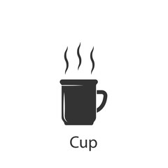 A cup of tea icon. Element of drink and food icon for mobile concept and web apps. Detailed A cup of tea icon can be used for web and mobile