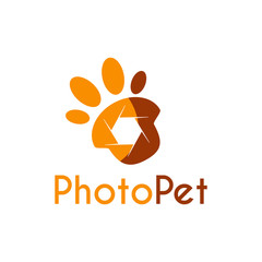 Vector Pet Photography logo, icon, symbols and app icon.