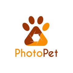 Vector Pet Photography logo, icon, symbols and app icon.