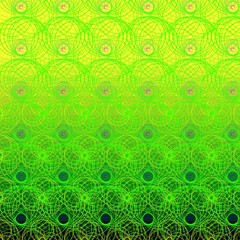 Abstract color background, illustration, lines, circles