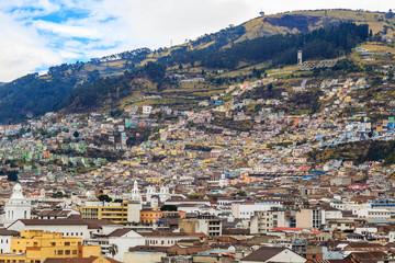 Bâtiments architecture Quito ville Equateur Capitale