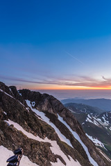 North eastern viewpoint of Pic du Midi, France