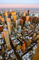 Upper Manhattan in New York, United States.