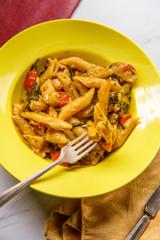 Creamy Tuscan Pasta Chicken
