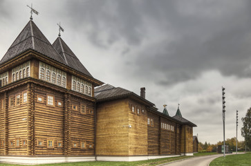 Rear side of palace