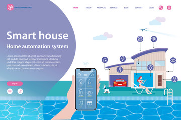 Smart House Home Automation System