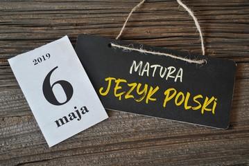 6 maja - matura język polski