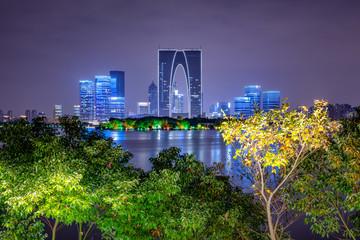 Suzhou skyline, China