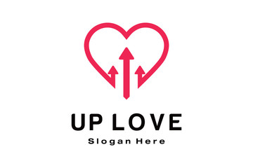 UP LOVE LOGO DESIGN