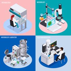 Microbiology Laboratory 2x2 Design Concept