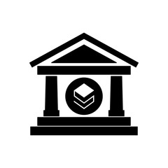 bank building with stratis
