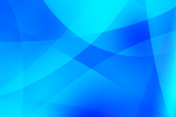 Abstract blue line texture with smooth shape background