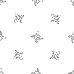 Eco berry pattern seamless vector repeat geometric for any web design