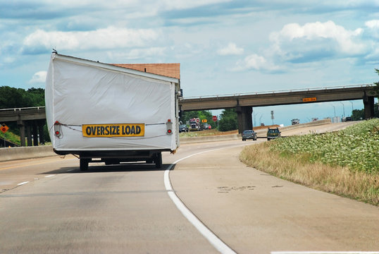 Manufactured Home on Highway