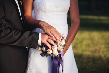 Wedding photo rings.