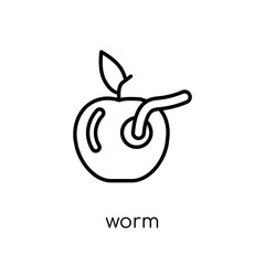Worm icon from Agriculture, Farming and Gardening collection.