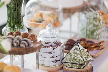 sandwich, mini canapes, buffet food, catering food party at restaurant, snacks and appetizers, mini cake, food for the event