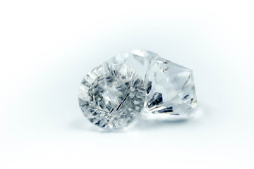 Diamonds on a white background.