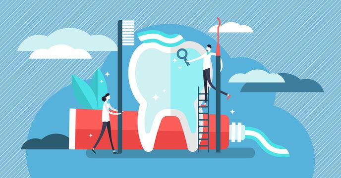 Dentist vector illustration