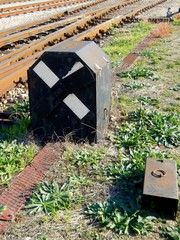 Railway Detail, Signal. Crossing
